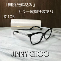 Jimmy Choo Unisex Square Optical Eyewear