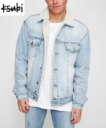 Short Denim Plain Denim Jackets Jackets