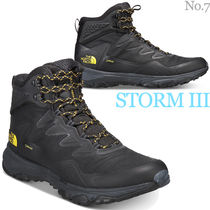 THE NORTH FACE Mountain Boots Street Style Plain Outdoor Boots