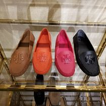Tory Burch Leather Loafer Pumps & Mules