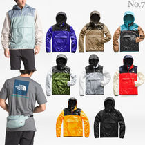 THE NORTH FACE Pullovers Nylon Street Style Bi-color Long Sleeves Plain