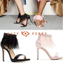 Katy Perry Plain Pin Heels Party Style Pointed Toe Pumps & Mules