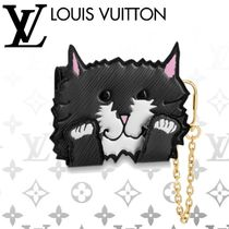 Louis Vuitton EPI Other Animal Patterns Leather Card Holders