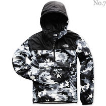 THE NORTH FACE Pullovers Camouflage Nylon Street Style Bi-color