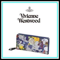 Vivienne Westwood Blended Fabrics Leather Home Party Ideas Long Wallets