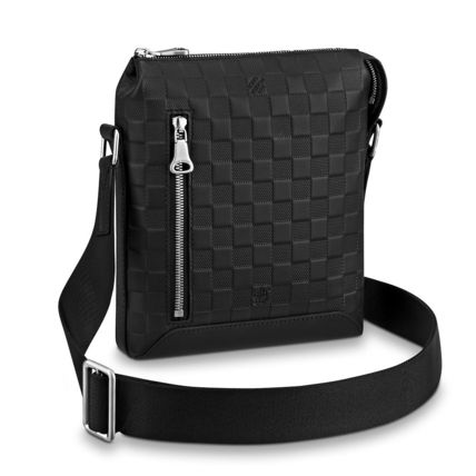 Louis Vuitton Messenger & Shoulder Bags Other Check Patterns Blended Fabrics Street Style 2WAY 2