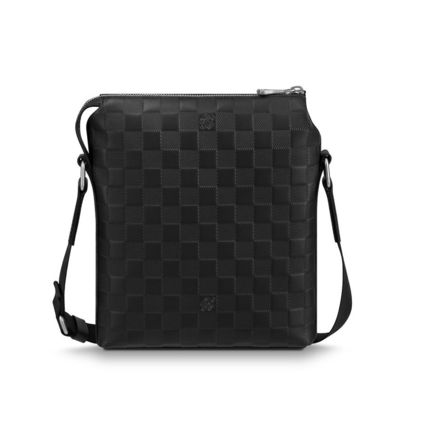 Louis Vuitton Messenger & Shoulder Bags Other Check Patterns Blended Fabrics Street Style 2WAY 5