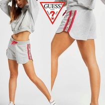 Guess Short Casual Style Street Style Cotton Denim & Cotton Shorts