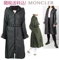 MONCLER Casual Style Plain Long Outerwear