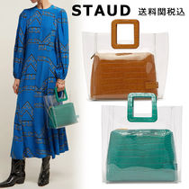 STAUD Casual Style Blended Fabrics Other Animal Patterns