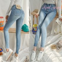 Denim Long Skinny Jeans