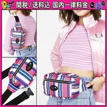 DOLLS KILL Stripes Casual Style Hip Packs