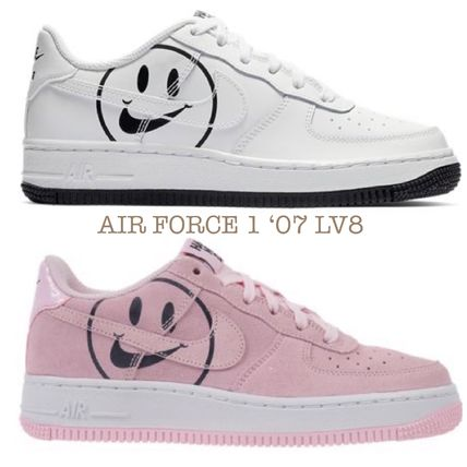 f54e26ecddaf Nike AIR FORCE 1 2019 SS Unisex Petit Kids Girl Sneakers by ...