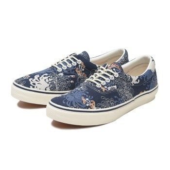 753b23a6f5 ... VANS Loafers   Slip-ons Flower Patterns Unisex Street Style Deck Shoes  ...