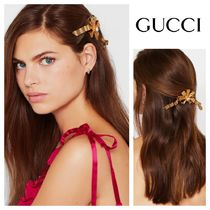 GUCCI Barettes Blended Fabrics Party Style Clips