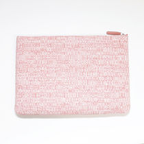 CHANEL DEAUVILLE Other Plaid Patterns Casual Style Calfskin Canvas