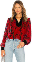 HOUSE OF HARLOW 1960 Flower Patterns Casual Style Nylon Collaboration Medium