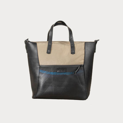 Casual Style Unisex 2WAY Handmade Totes