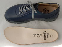 Finn Comfort Square Toe Casual Style Leather Shoes