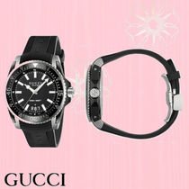 GUCCI Unisex Divers Watches Digital Watches