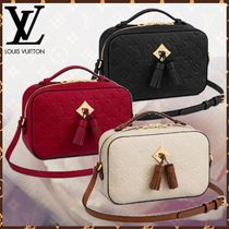 Louis Vuitton MONOGRAM EMPREINTE Monogram Canvas Blended Fabrics Tassel 2WAY Bi-color
