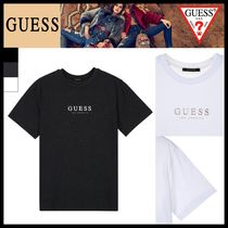 Guess Unisex Street Style Short Sleeves T-Shirts