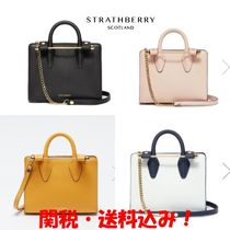 STRATHBERRY Leather Elegant Style Totes
