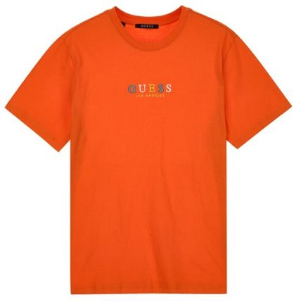 Guess More T-Shirts Unisex Street Style Short Sleeves T-Shirts 2