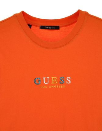 Guess More T-Shirts Unisex Street Style Short Sleeves T-Shirts 4