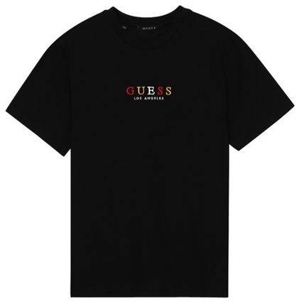 Guess More T-Shirts Unisex Street Style Short Sleeves T-Shirts 7