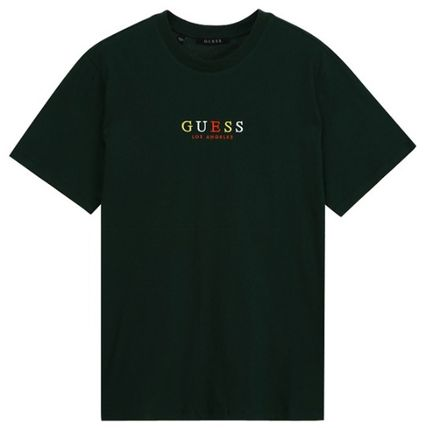 Guess More T-Shirts Unisex Street Style Short Sleeves T-Shirts 8