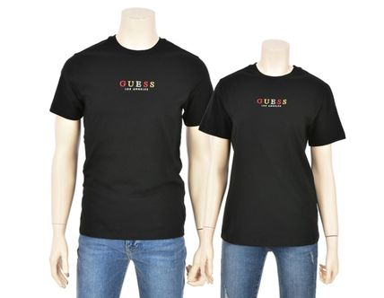 Guess More T-Shirts Unisex Street Style Short Sleeves T-Shirts 9