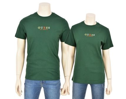 Guess More T-Shirts Unisex Street Style Short Sleeves T-Shirts 10
