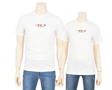 Guess More T-Shirts Unisex Street Style Short Sleeves T-Shirts 11