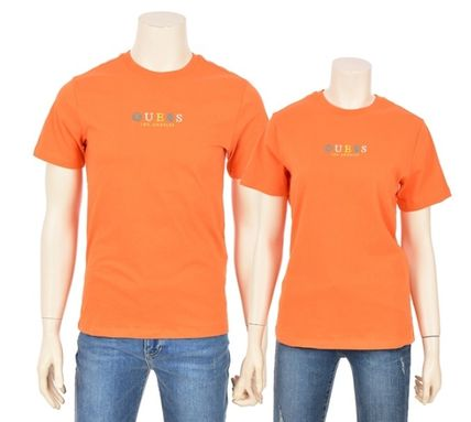 Guess More T-Shirts Unisex Street Style Short Sleeves T-Shirts 12