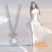 HERMES Silver Necklaces & Pendants