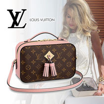 Louis Vuitton Monogram Canvas Tassel 2WAY Plain Shoulder Bags