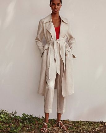 Plain Trench Coats