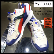 ADERERROR Plain Toe Rubber Sole Casual Style Unisex Street Style