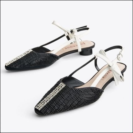 With Jewels Elegant Style Sandals