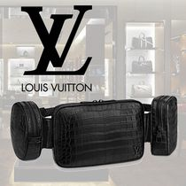 Louis Vuitton Crocodile Street Style Bags