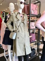 kate spade new york Plain Medium Trench Coats