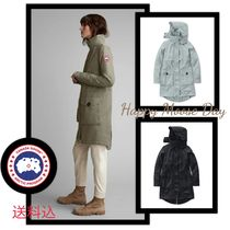 CANADA GOOSE Casual Style Plain Medium Trench Coats