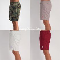 STUSSY Printed Pants Camouflage Street Style Cotton Shorts
