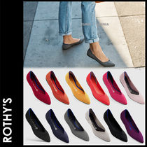 ROTHY'S Plain Elegant Style Slip-On Shoes