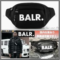 BALR Nylon Plain Hip Packs
