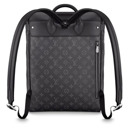 Louis Vuitton Backpacks Monogram Blended Fabrics Street Style A4 2WAY Bi-color 6