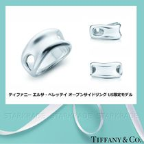 Tiffany & Co Casual Style Unisex Silver Fine