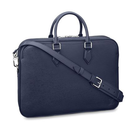 Louis Vuitton Business & Briefcases Blended Fabrics A4 2WAY Plain Leather Business & Briefcases 2