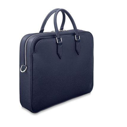 Louis Vuitton Business & Briefcases Blended Fabrics A4 2WAY Plain Leather Business & Briefcases 3
